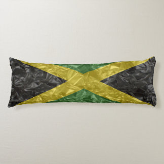 Bandera jamaicana - arrugada cojin cama