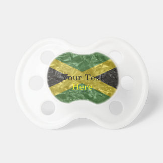 Bandera jamaicana - arrugada chupetes para bebes
