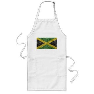 Bandera jamaicana - arrugada delantales