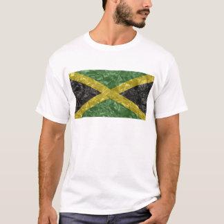 Bandera jamaicana - arrugada playera