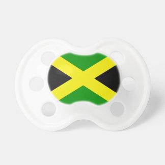 Bandera jamaicana chupetes para bebes