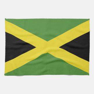 Bandera jamaicana clásica toallas