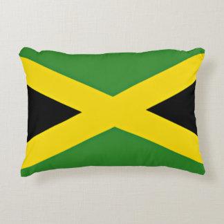 Bandera jamaicana cojín decorativo