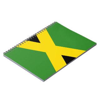 Bandera jamaicana cuadernos