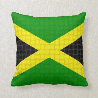 Bandera jamaicana de Jamaica Cojin
