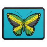 Bandera jamaicana de la mariposa tapa de tráiler