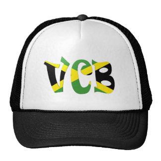 Bandera jamaicana de VCB Gorro De Camionero