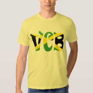 Bandera jamaicana de VCB Remera