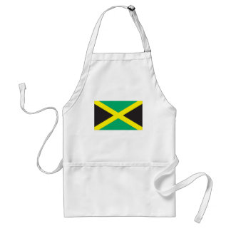 Bandera jamaicana delantal
