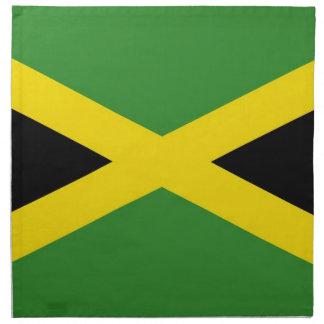 Bandera jamaicana en la servilleta de MoJo