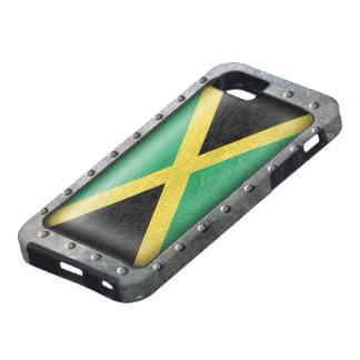 Bandera jamaicana industrial funda para iPhone SE/5/5s