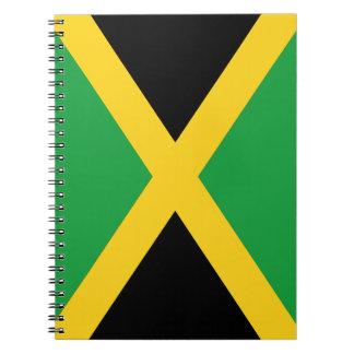 Bandera jamaicana libro de apuntes