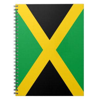 Bandera jamaicana notebook