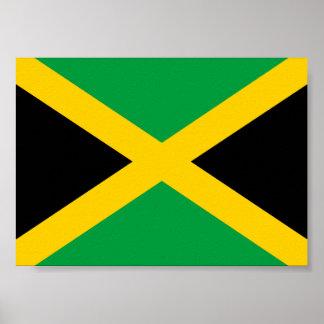 Bandera jamaicana impresiones