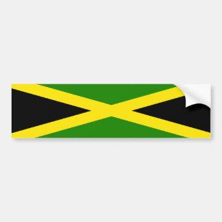 Bandera jamaicana pegatina para auto