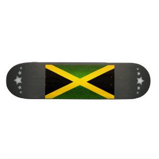 Bandera jamaicana pelada moderna patín personalizado