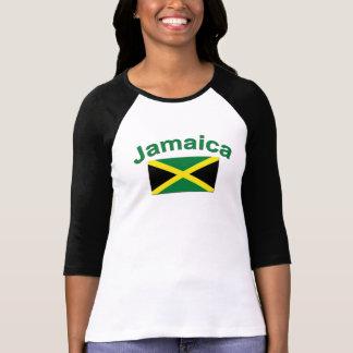 Bandera jamaicana camiseta