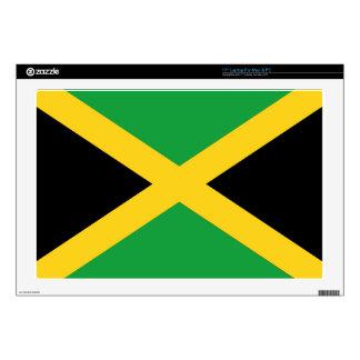 Bandera jamaicana portátil calcomanía