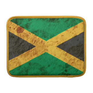 Bandera jamaicana rugosa funda macbook air