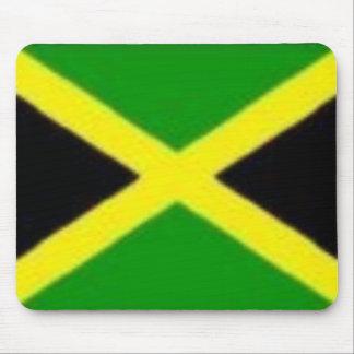 Bandera jamaicana tapetes de ratón