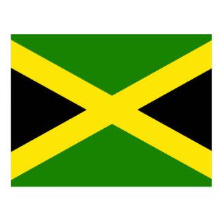 Bandera jamaicana tarjetas postales