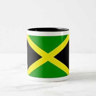 Bandera jamaicana tazas de café