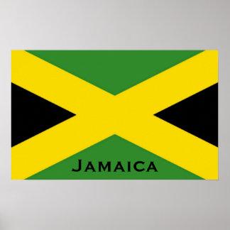 Bandera jamaicana To The Edge con la palabra de Ja Posters