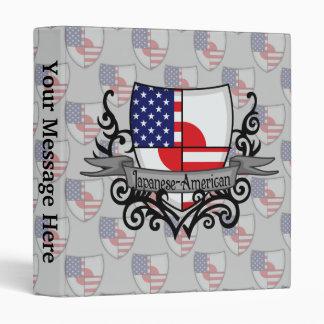 """Bandera Japonés-Americana del escudo Carpeta 1"""""""