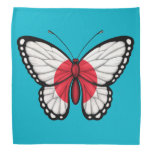 Bandera japonesa de la mariposa