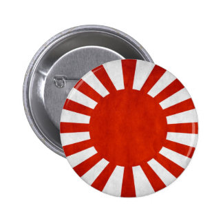 Bandera japonesa del Grunge Pin