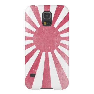 Bandera japonesa del sol naciente (apenada carcasa para galaxy s5