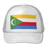 Bandera kilómetro de los Comoro Gorro