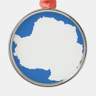 Bandera la Antártida de Graham Bartram Ornamento De Navidad