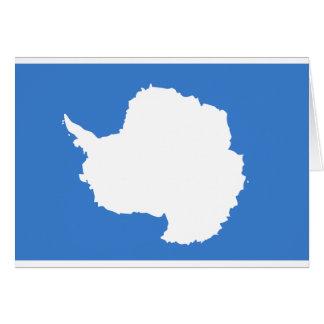 Bandera la Antártida de Graham Bartram Tarjeta De Felicitación