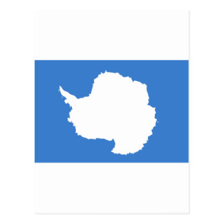 Bandera la Antártida de Graham Bartram Tarjeta Postal