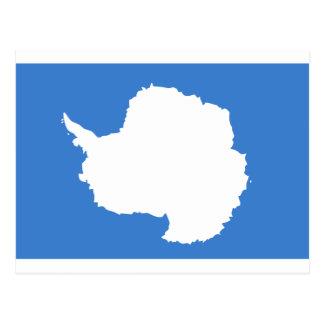 Bandera la Antártida de Graham Bartram Tarjetas Postales
