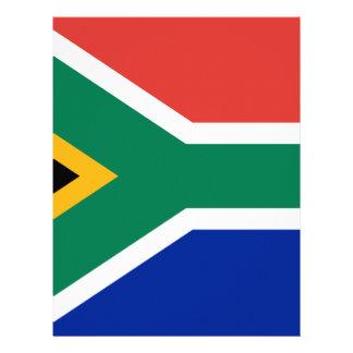 Bandera - la República Surafricana Membrete