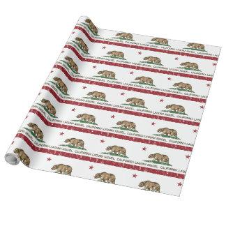 Bandera Laguna Niguel del estado de California Papel De Regalo