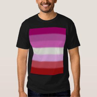 Bandera lesbiana del orgullo de Falln Remeras