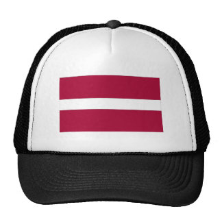 Bandera letona gorras