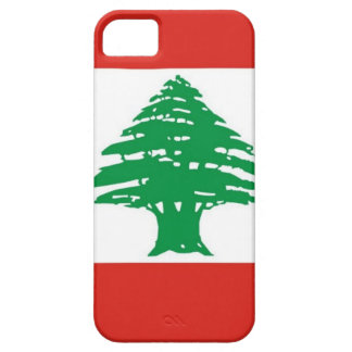 Bandera libanesa iPhone 5 Case-Mate coberturas