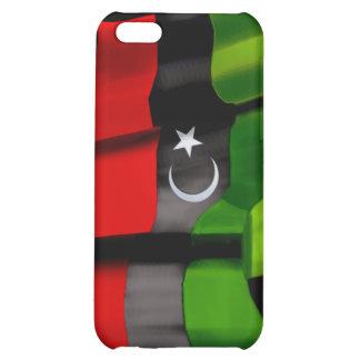 Bandera libia de la bandera de la monarquía de la