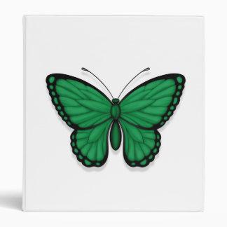 Bandera libia de la mariposa