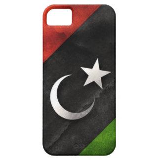 Bandera libia iPhone 5 carcasas