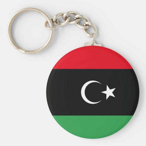 Bandera libre de Libia Llaveros
