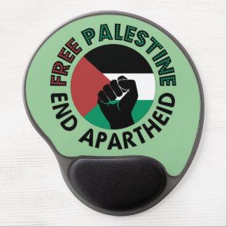 Bandera libre de Palestina del apartheid del final Alfombrilla De Raton Con Gel