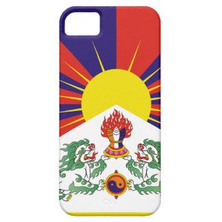 Bandera libre de Tíbet del tibetano - ་ del བཙན iPhone 5 Funda