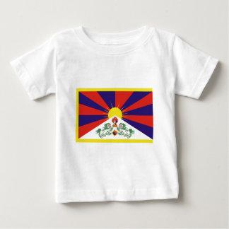 Bandera libre de Tíbet del tibetano - ་ del བཙན Playera