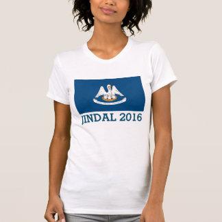 Bandera linda 2016 de Jindal Luisiana Camisetas