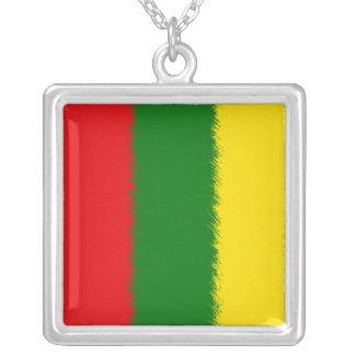 Bandera lituana collares